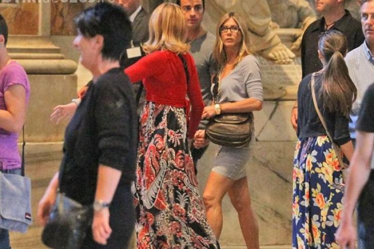 Jennifer Aniston a incalcat regulile aspre ale Vaticanului! VEZI cum FOTO