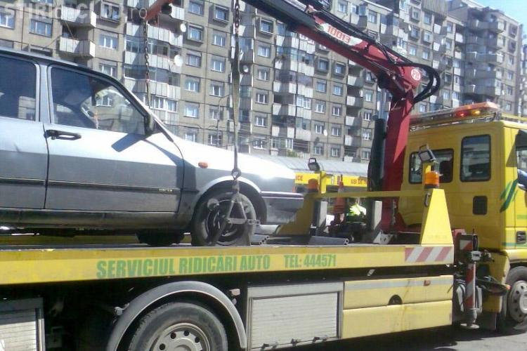 20 % din amenzile pentru parcarile ilegale din Cluj-Napoca nu sunt platite