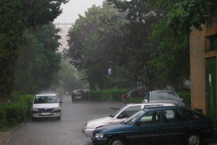 ATENTIE! Furtuna la Cluj intre 14.20 si 15.20