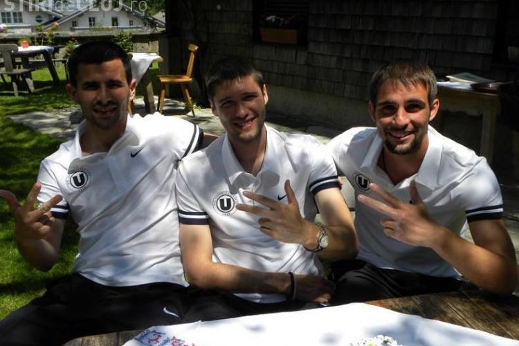 Fundasii sarbi de la Universitatea Cluj,  Zoran Belosevic si Boban Cenic, se cred de netrecut
