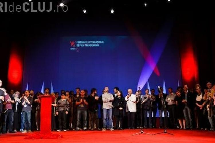 Protest la Gala de Premiere de la TIFF, fata de proiectul de modificare a Legii Cinematografiei