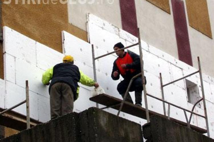 Opt firme care fac lucrari de reabilitare termica au fost inchise de ITM Cluj
