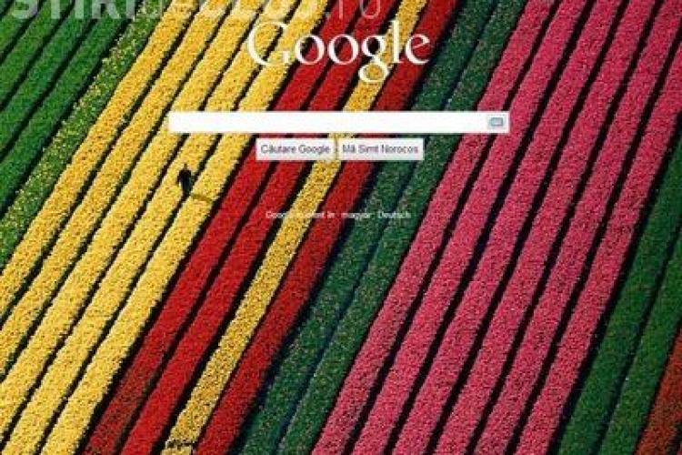 Puteti sa va personalizati pagina de start Google