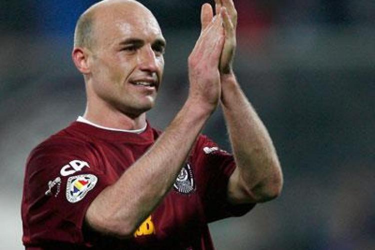 Gabi Muresan si-a prelungit contractul cu CFR Cluj pe inca 5 ani
