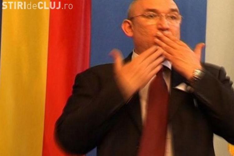 Gelu Bogdan, presedintele Asociatiei Surzilor din Cluj, a fost fortat sa plece