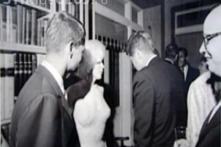 Singura fotografie in care Marilyn Monroe apare alaturi de John F. Kennedy a fost facuta publica - VEZI FOTO