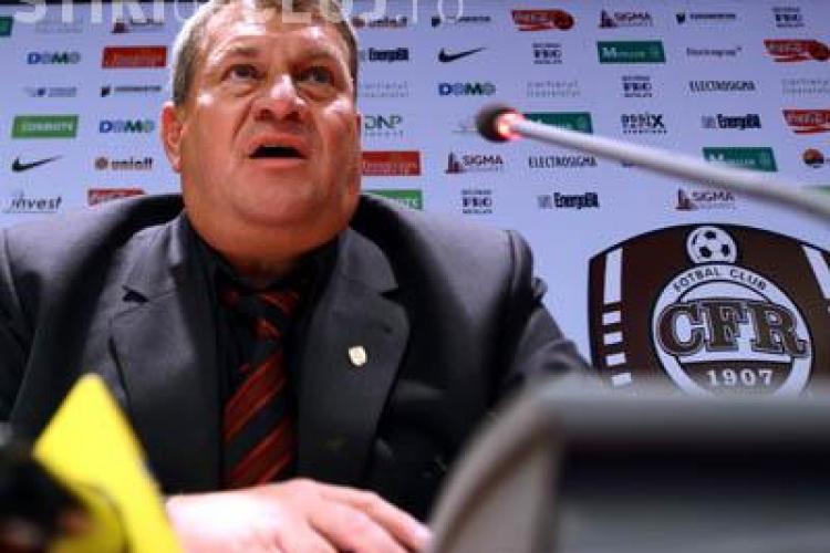 Iuliu Muresan: Piccolo, De Zerbi si Bottone, vor juca in proportie de 90 % cu CFR Cluj in Champions League