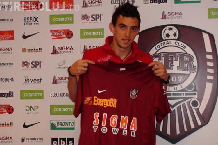 Ioan Hora s-a transferat la CFR Cluj