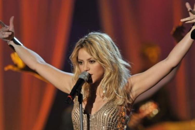 Shakira va canta imnul Waka Waka, in deschiderea Cupei Mondiale la fotbal din Africa de Sud -VIDEO