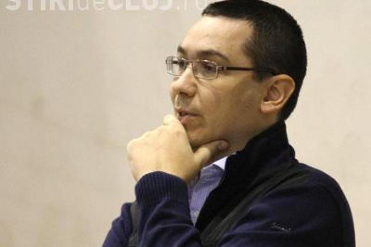 Victor Ponta in vizita la Cluj: Vreau din tot sufletul ca motiunea de cenzura sa treaca