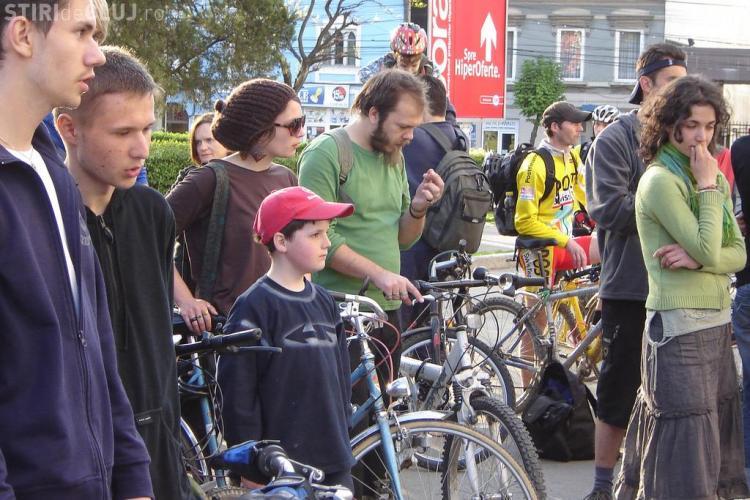 Marsul Biciclistilor de la ora 17.00. Startul se da din Piata Muzeului