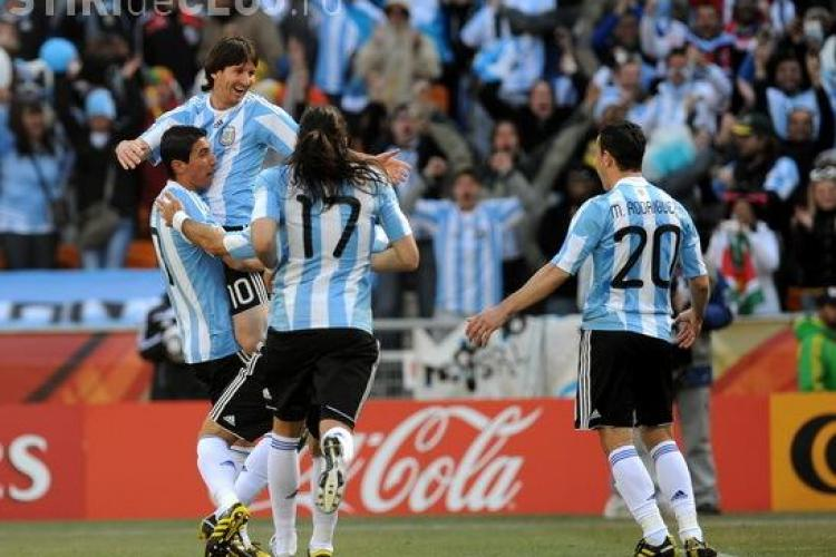 Argentina - Coreea de Sud 4 - 1. Huguain a reusit primul Hattrick de la Campionatul Mondial - VEZI REZUMATUL MECIULUI