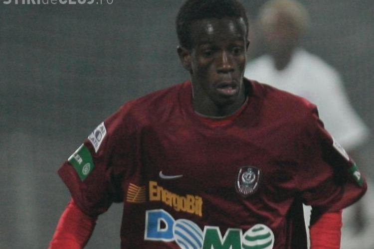 CFR Cluj va incasa circa 40.000 de euro de la FIFA, pentru Emmanuel Kone, care joaca la Mondialul din Africa