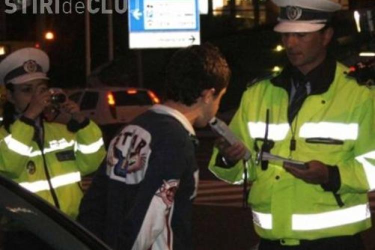 Record! Un tanar de 18 ani din Gherla prins beat, fara permis si la volanul unui autoturism furat