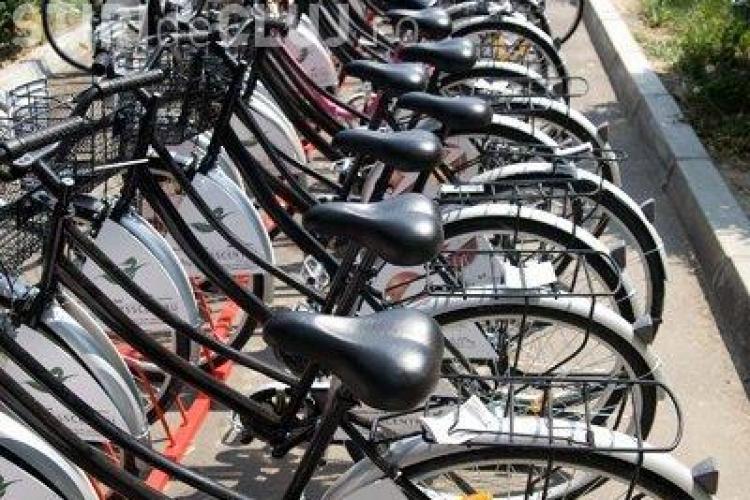 Biciclete inchiriate la Cluj numai cu buletinul, din 1 iulie