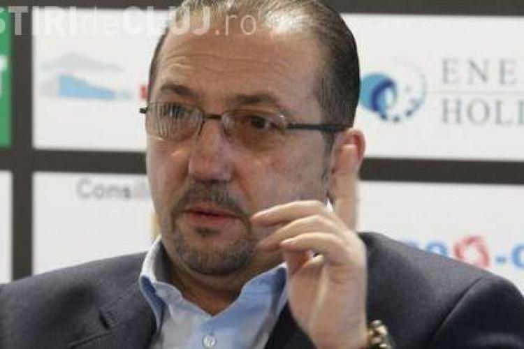 De azi, Florian Walter detine 96% din actiunile U Cluj