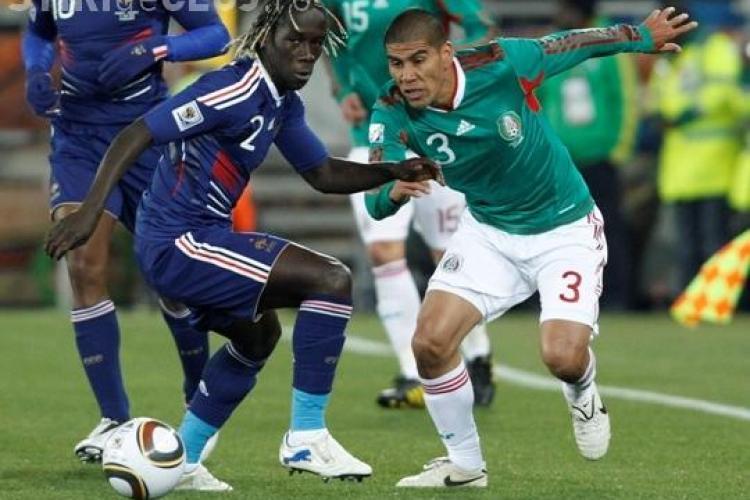 Franta - Mexic 0-2. Cocosul galic a fost jumulit de mexicani - VEZI REZUMATUL MECIULUI