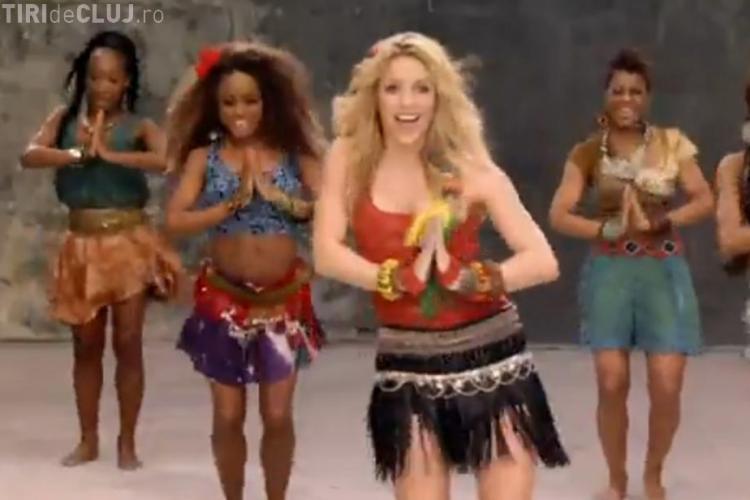 VIDEO - Shakira canta Imnul Campionatului Mondial de Fotbal din Africa de Sud