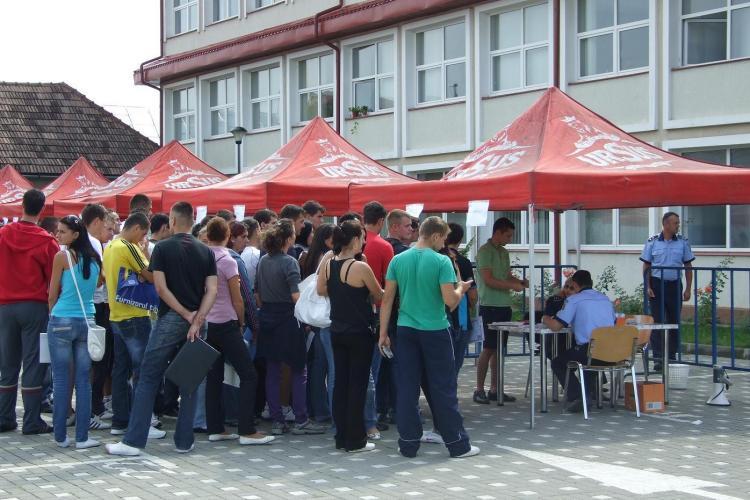 """Peste 8 candidati pe un loc la scoala de politie """"Septimiu Muresan"""" din Cluj-Napoca"""