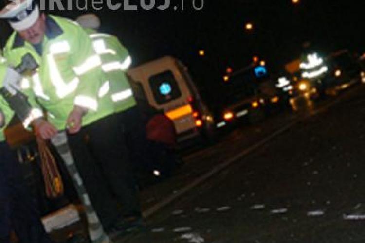 Accident in Huedin. Patru persoane au fost ranite in noaptea de sambata spre duminica