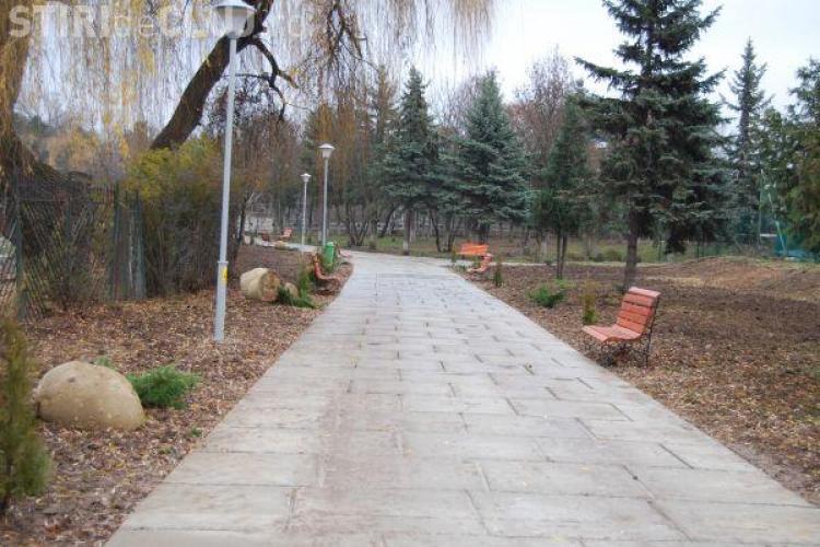 Parcul Rozelor din Cluj-Napoca a fost inaugurat astazi