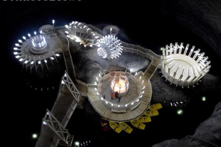 130.000 de turisti au vizitat Salina Turda pana la finele lunii mai. Aproape cat a fost estimat pentru tot anul 2010