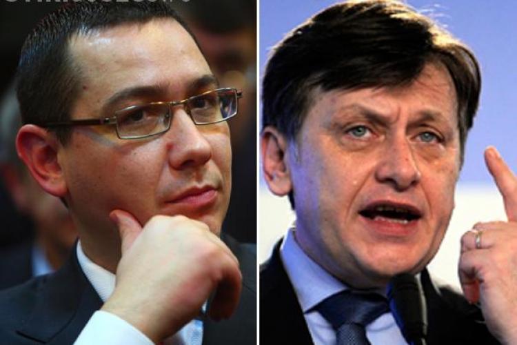 Victor Ponta, cel mai popular candidat la prezidentiale, pe care Crin Antonescu le-ar castiga la votul direct