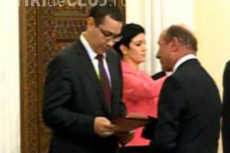 Ponta susţine că a primit de la Băsescu o scrisoare cu demisia