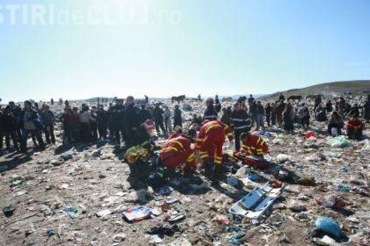 O fetiță de 5 ani a murit la Pata Rât călcată de o gunoieră