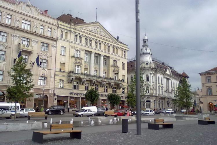 Centrul Clujului va fi pietonal pe durata weekend-urilor! Cum vi se pare propunerea VIDEO