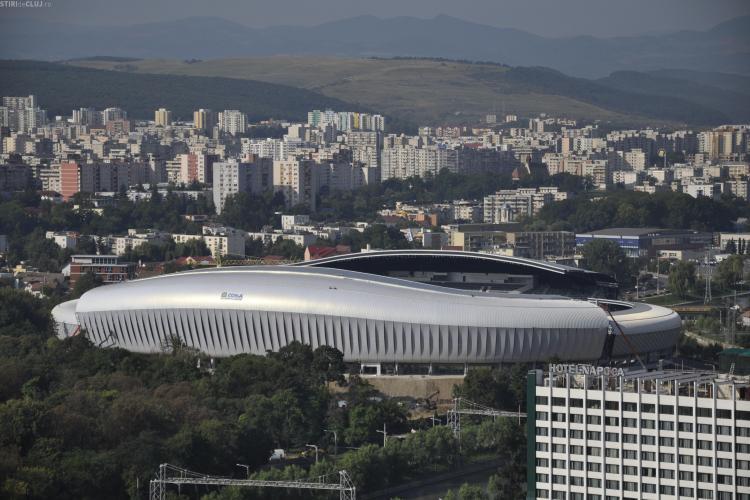 Parcare cu mii de locuri lângă Cluj Arena