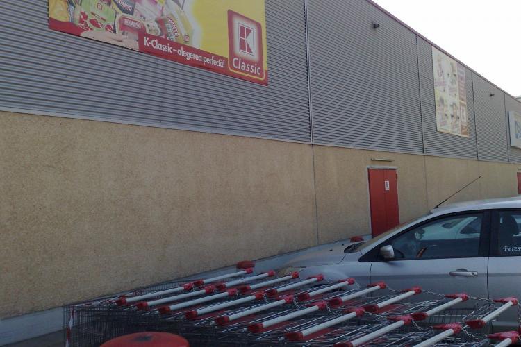 Kaufland Mărăști a desfiintat parcările pentru persoane cu handicap FOTO - ȘTIREA CITITORULUI