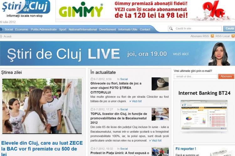 Știri de Cluj, principala sursă de informare a clujenilor și în acest weekend