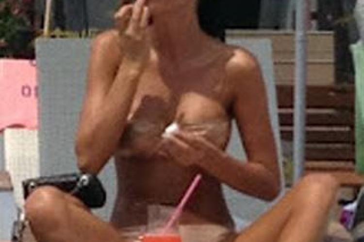Daniela Crudu la plajă aşa cum nu ţi-ai fi imaginat-o niciodată!