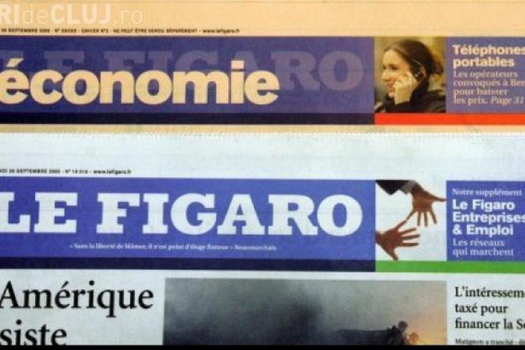 Le Figaro TITREAZĂ: E lovitură de stat împotriva preşedintelui român Traian Băsescu