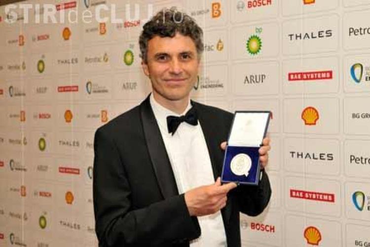 Un profesor român a primit cea mai înaltă distincţie a Academiei Regale de Inginerie