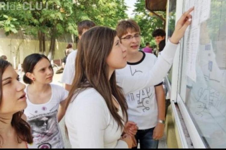 Elevele din Cluj, care au luat ZECE la BAC vor fi premiate cu 500 de lei