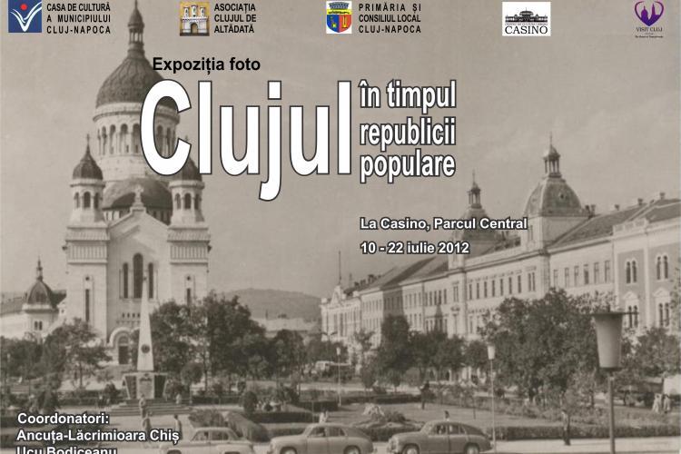"""Clujenii, invitaţi la expoziţia de fotografie """"Clujul în timpul republicii populare"""""""