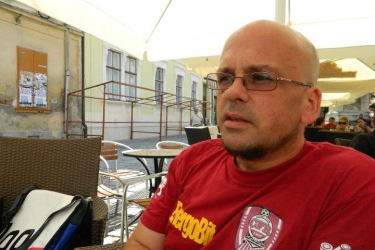 Sam cel Roman, americanul care iubește Clujul și România VIDEO