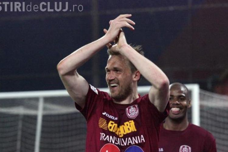CFR Cluj a câștigat cu 4-1 amicalul cu Lokomotiv Plovdiv