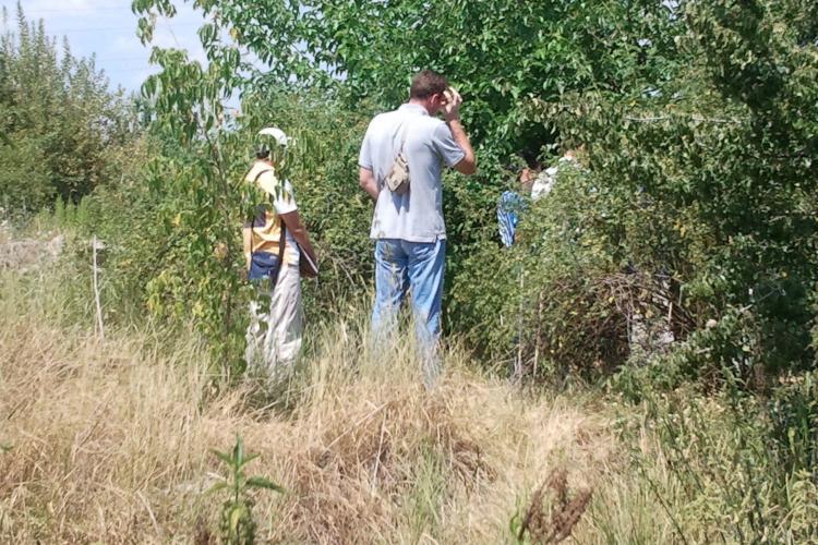 Un schelet de om a fost descoperit în zona Pieţei Abator din Cluj-Napoca FOTO VIDEO