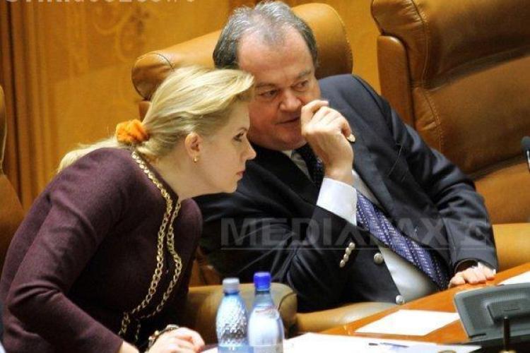 USL va solicita revocarea lui Blaga şi a Robertei Anastase de la şefia Camerei Deputaţilor