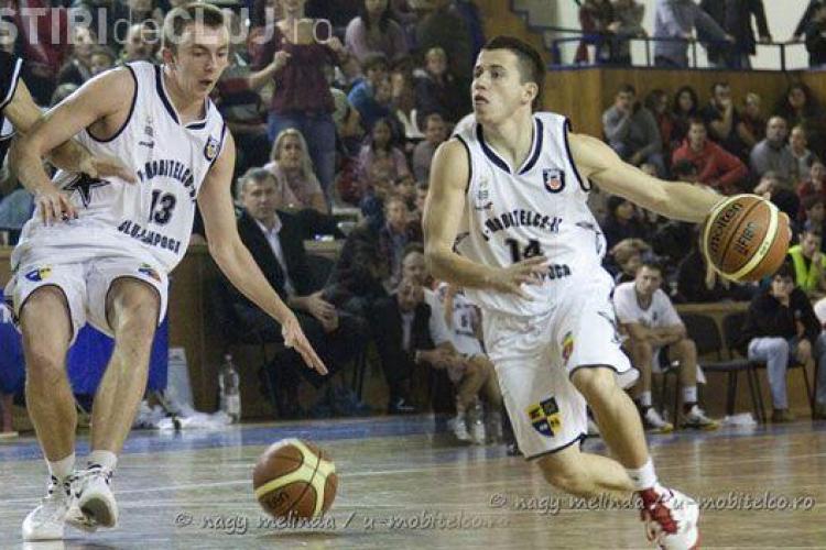 Doi jucători de la U Mobitelco Cluj, convocați la Campionatul Mondial de 3X3