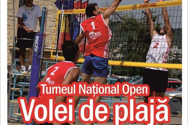 Campionatul național de Beach volleyball la Cluj-Napoca