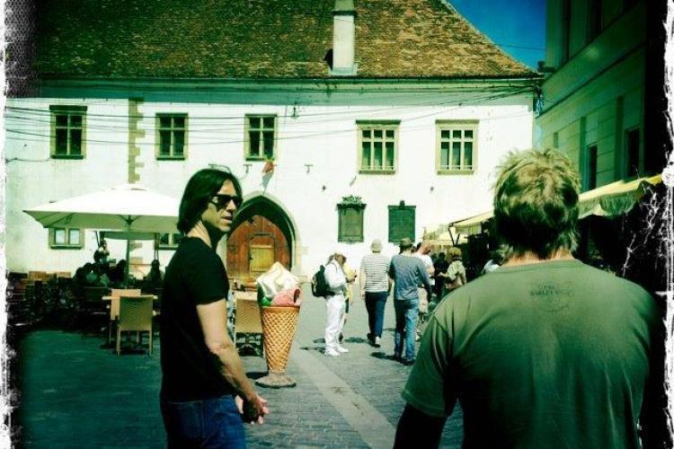 Per Gessle de la Roxette a vizitat Clujul alături de alți muzicieni FOTO