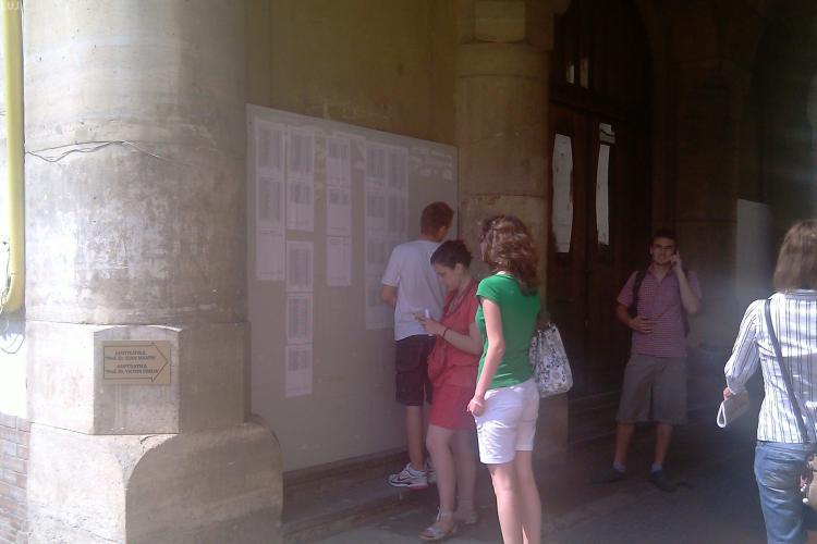 ADMITERE UMF CLUJ 2012: Aproape 1900 de candidați s-au înscris în examen
