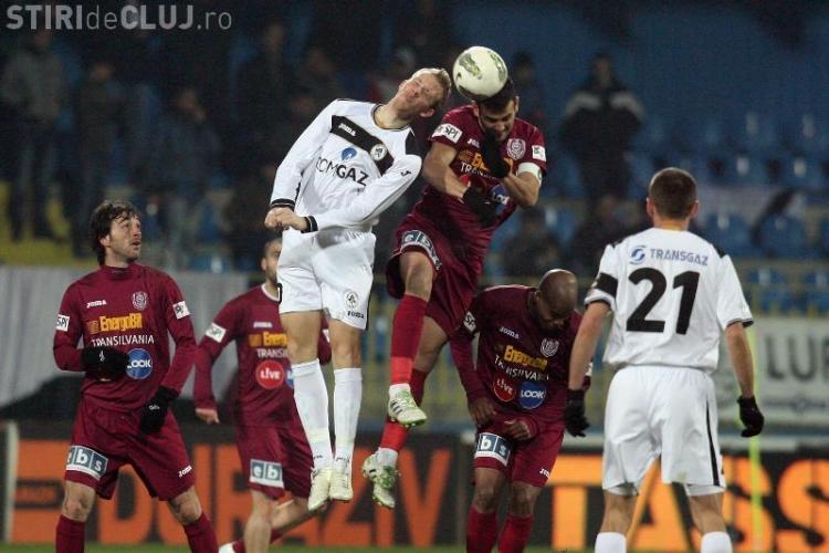 CFR Cluj - Gaz Metan Mediaș 1-1 REZUMAT VIDEO! CFR joacă la fel de slab ca anul trecut