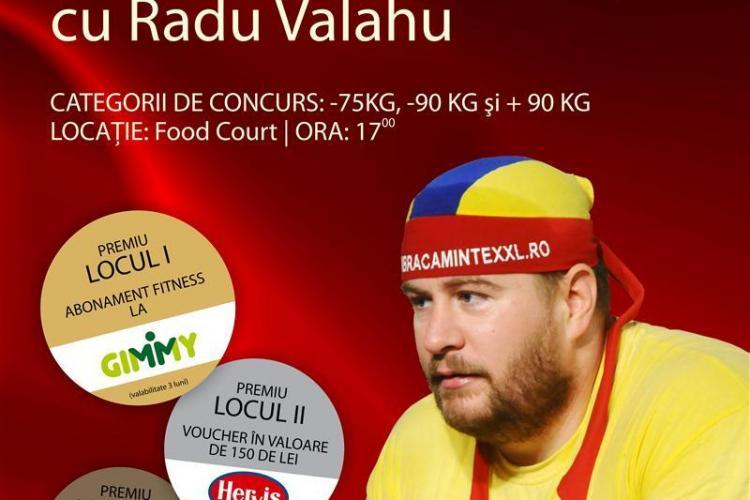 Concurs de skandenberg la Cluj. Radu Valahu este invitat de onoare
