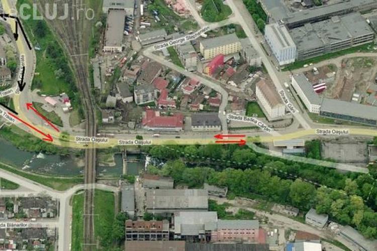 Restricţii de circulaţie pentru continuarea lucrărilor la linia de tramvai