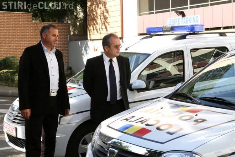 Două noi maşini de intervenţie au intrat în dotarea Poliţiei Locale FOTO